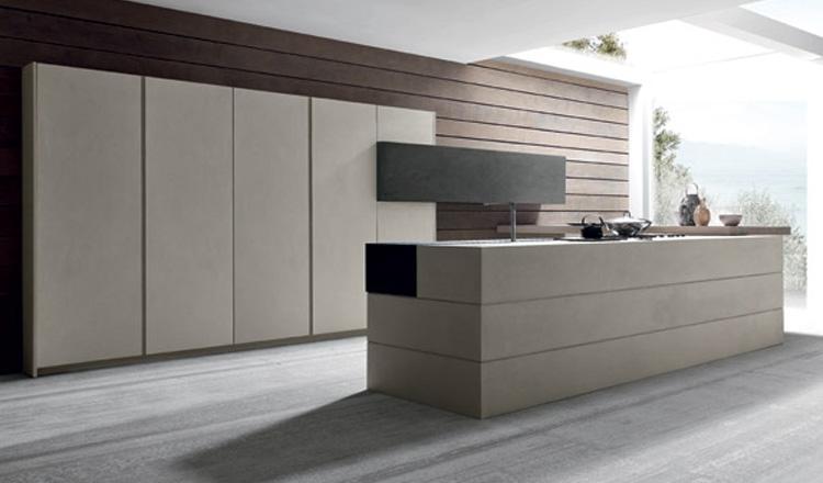 Cucina twenty cemento marletto soluzioni d 39 arredo la spezia - Cucine in cemento ...